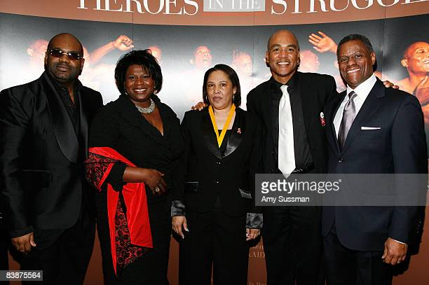 Dr Neil Lowe vice president of the National Coalition of Black Women Gazelle Howard AIDS activist Andrea Williams founder of The Black AIDS Institute...