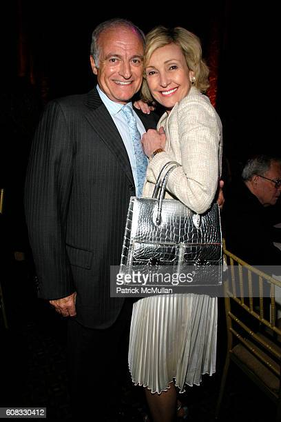 Dr Nevel Marks and Lana Marks attend Opening Night Of Legally Blonde at The Palace Theatre and Cipriani 42nd Street on April 29 2007 in New York