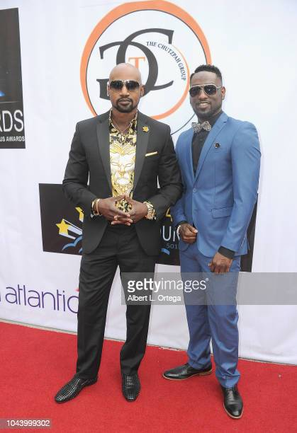 Dr Neville Campbell and Vern Palmer arrive for 2nd Annual HAPAwards held at Alex Theatre on September 30 2018 in Glendale California