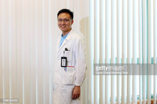 Dr Ng Chiho the newly elected president of the Hong Kong Public Doctors' Association poses for a photograph in Yuen Long 18JUL16 SCMP/ David Wong
