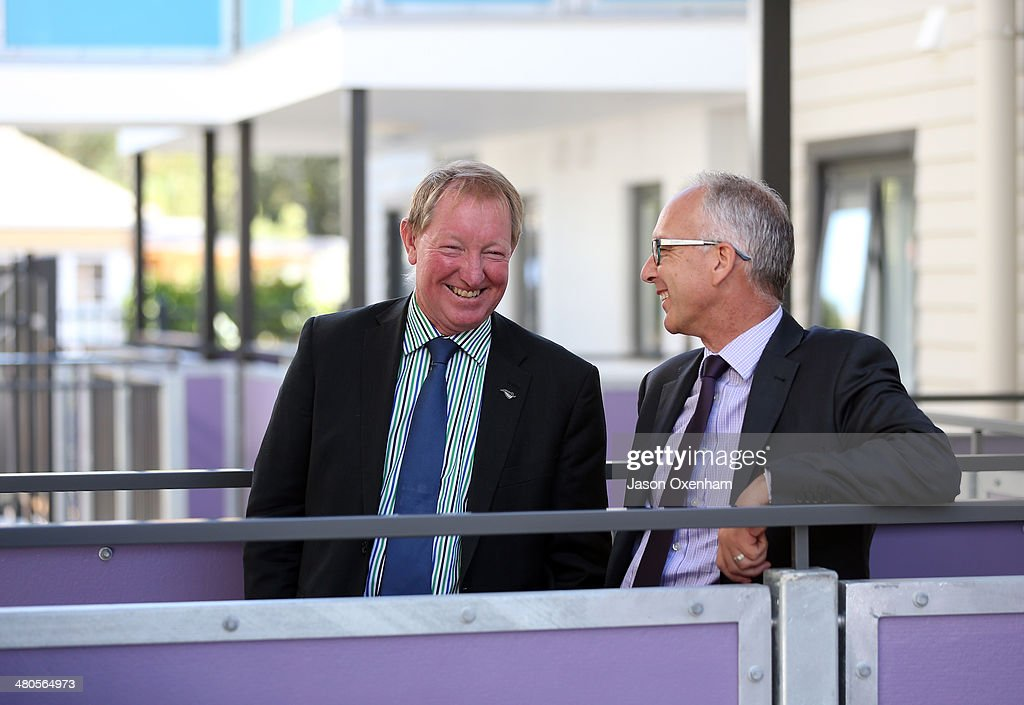Dr Nick Smith Opens Housing New Zealand's Garrison Henshaw Redevelopment Project : News Photo