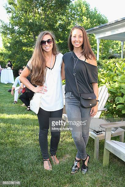 Dr Nicole Rufrano and Daniele Rufrano attend Daily Front Row's 'Luxury and Love' party at Inn at Windmill Lane on August 20 2016 in Amagansett New...