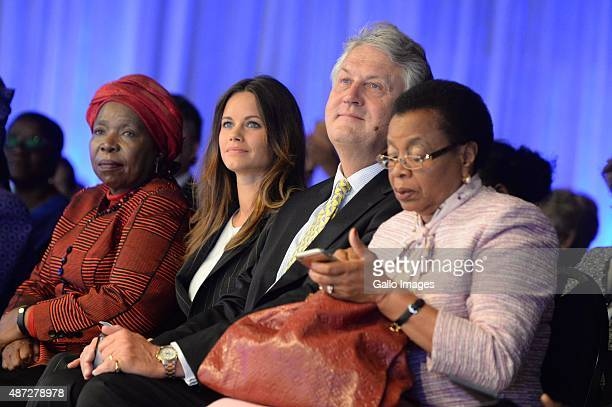 Dr Nkosazana Dlamini ZumaPrincess Sofia of Sweden with Graca Machel and Uif Karlberg at the Global Child Forum on Southern Africa on September 8 2015...