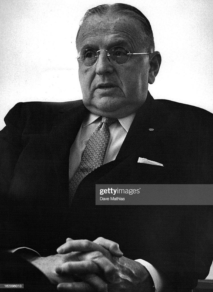 1962, 5/17/1962; Dr. Norman Vincent Peale; : Foto di attualità