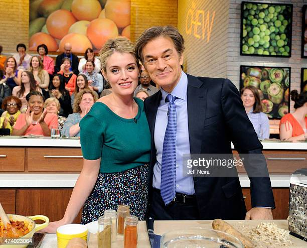 THE CHEW Dr Oz and Brittany Snow are the guests Friday May 15 2015 on ABC's The Chew The Chew airs MONDAY FRIDAY on the ABC Television Network