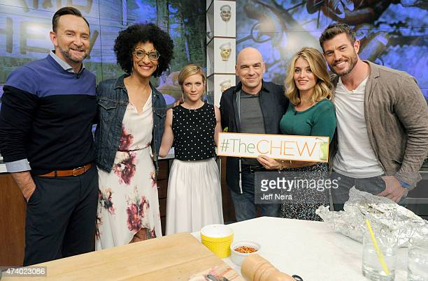 THE CHEW Dr Oz and Brittany Snow are the guests Friday May 15 2015 on Walt Disney Television via Getty Images's The Chew The Chew airs MONDAY FRIDAY...