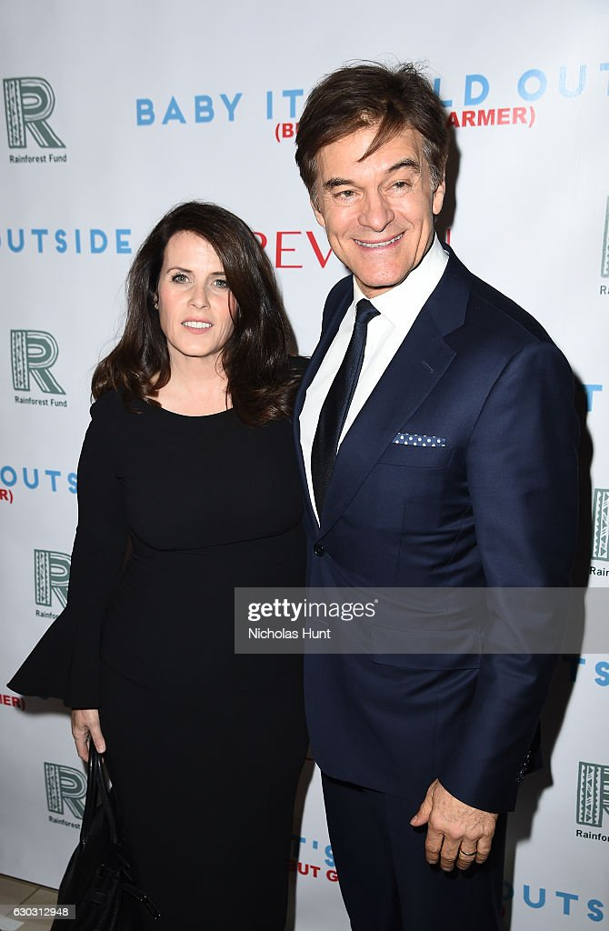 Dr. Oz and Lisa Oz attend 'Baby It's Cold Outside' - The 2016 Revlon Holiday Concert for The Rainforest Fund Gala at JW Marriott Essex House on December 14, 2016 in New York City.