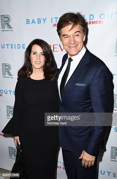 Dr Oz and Lisa Oz attend Baby It's Cold Outside The 2016 Revlon Holiday Concert for The Rainforest Fund Gala at JW Marriott Essex House on December...
