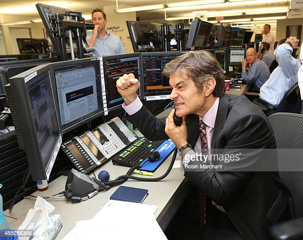 Dr Oz attends Annual Charity Day Hosted By Cantor Fitzgerald And BGC at Cantor Fitzgerald on September 11 2014 in New York City