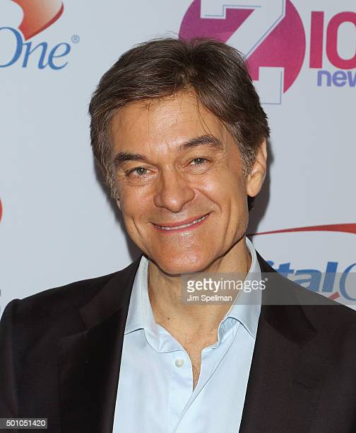 Dr Oz attends the Z100's iHeartRadio Jingle Ball 2015 at Madison Square Garden on December 11 2015 in New York City