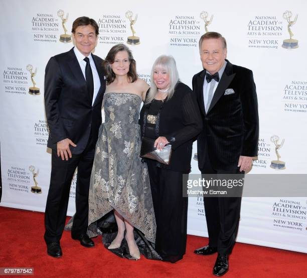 Dr Oz Denise Rover Lorri Scott and Marvin Scott attend the 60th Anniversary New York Emmy Awards Gala at Marriott Marquis Times Square on May 6 2017...
