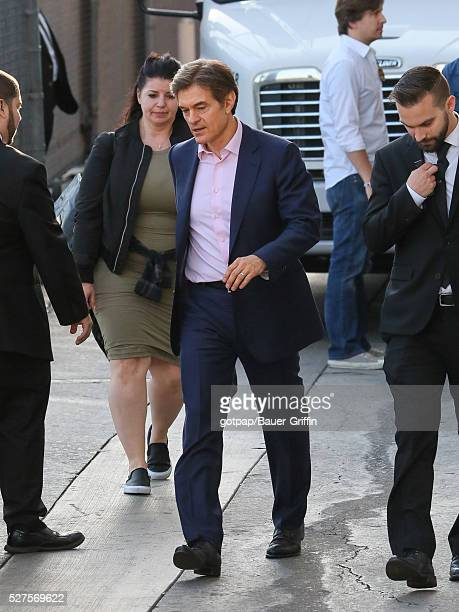 Dr Oz is seen at 'Jimmy Kimmel Live' on May 02 2016 in Los Angeles California