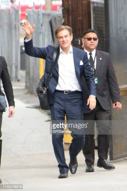 Dr Oz is seen on May 7 2019 in Los Angeles