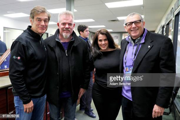 Dr Oz Starkey Hearing Foundation Executive Director of Philanthropy Brady Forseth writer Lisa Oz and Vikings coowner Zygi Wilf attend the 2018 Big...
