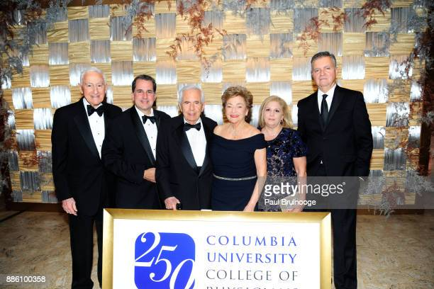 Dr P Roy Vagelos Ted Vagelos John Vagelos Diana Vagelos Lydia Callimanis and John Callimanis attend The Crown Awards Gala in celebration of the 250th...