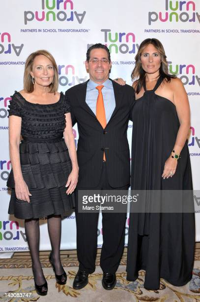 Dr Pam Cantor David Gerstenhaber and Dr Kelly Posner Gerstenhaber attend the 3rd annual Impact Awards dinner at The Plaza Hotel on April 18 2012 in...