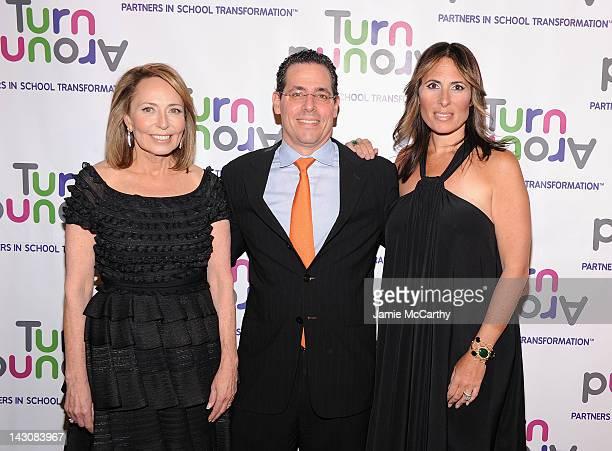 Dr Pamela CantorpresidentCEO and founder of Turnaround fo Children David Gerstenhaber and Dr Kelly Posner Gerstenhaber cochair of Turnaround fo...
