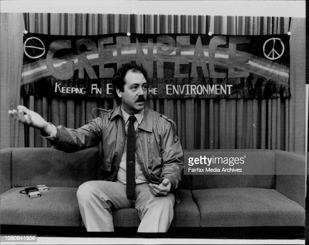 Dr Patrick Moore Co Founder of Greenpeace and Director of Greenpeace International in Canada February 28 1983