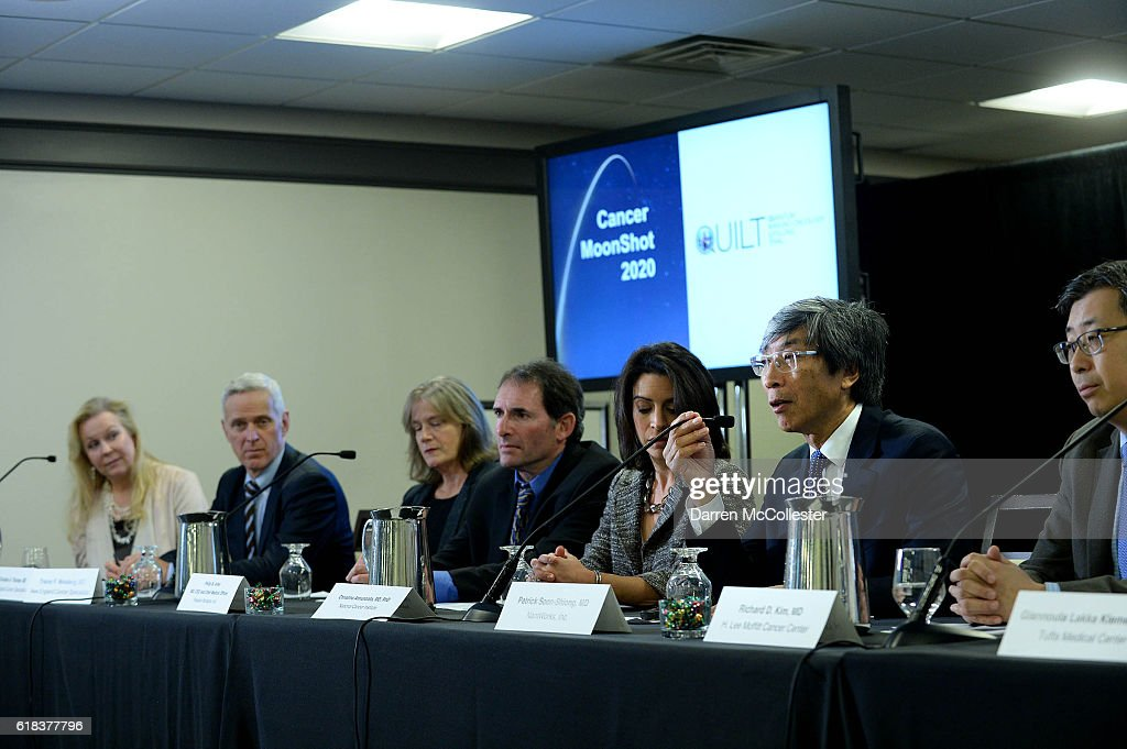 Dr. Patrick Soon-Shiong, Announces First Major Project Of The Pediatric Cancer MoonShot 2020 Consortium: $20 Million Award to Enable Comprehensive Molecular Analysis of Pediatric Brain Tumors : News Photo