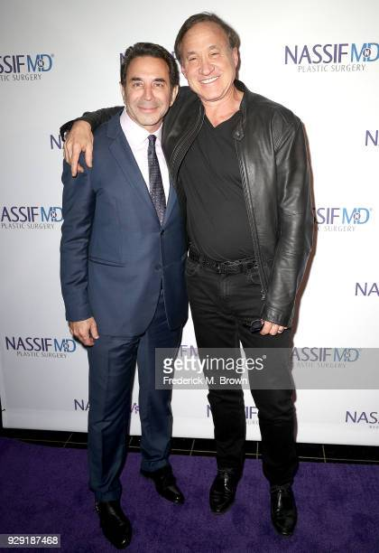 Dr Paul Nassif and Dr Terry Dubrow unveils Dr Paul Nassif new medical spa with grand opening and ribbon cutting ceremony on March 7 2018 in Beverly...