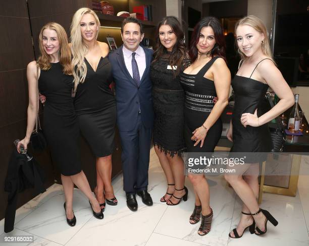 Dr Paul Nassif and staff unveils his new medical spa with grand opening and ribbon cutting ceremony on March 7 2018 in Beverly Hills California