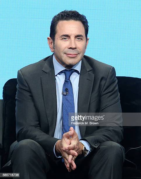 Dr Paul Nassif speaks onstage at the 'Botched by Nature' panel discussion during the NBCUniversal portion of the 2016 Television Critics Association...