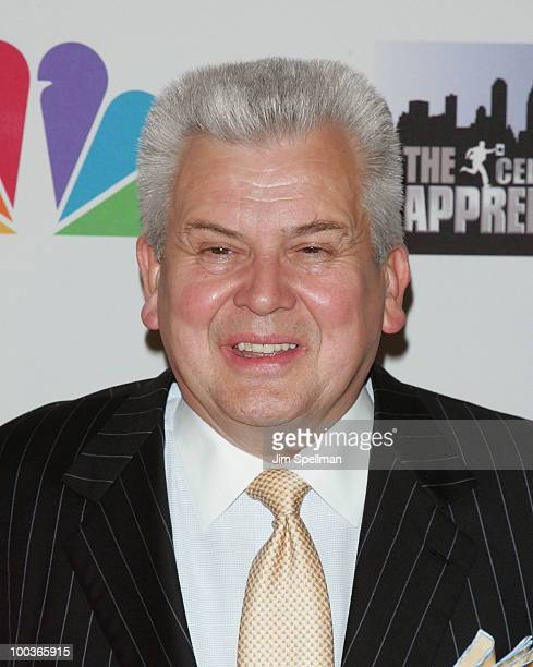 Dr Pepper Snapple Group CEO Larry Young attends 'The Celebrity Apprentice' Season 3 finale after party at the Trump SoHo on May 23 2010 in New York...