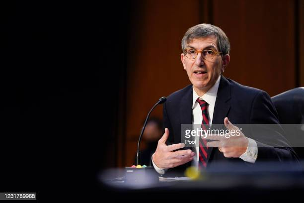 Dr. Peter Marks, Director of the Center for Biologics Evaluation and Research within the Food and Drug Administration, testifies during a Senate...