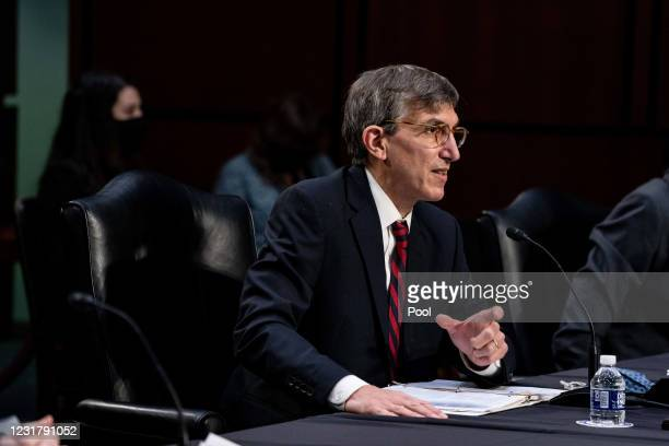 Dr. Peter Marks, Director of the Center for Biologics Evaluation and Research within the Food and Drug Administration during a hearing with the...