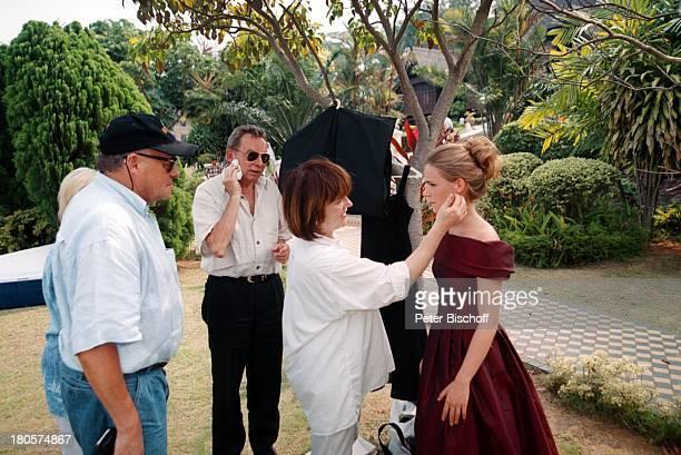 Dr Peter Matthaes ARD/N3Show Heimat inder Ferne Folge MalaysiaLangkawi/Malaysia/Asien Hotel TheAndaman Maskenbildnerin Garten