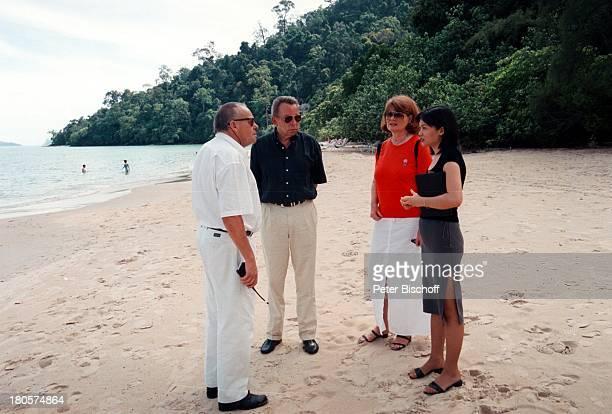 Dr Peter Matthaes Horst M Berktold ARD/N3Show Heimat in derFerne Folge MalaysiaLangkawi/Malaysia/Asien Hotel TheAndaman Strand Urlaub