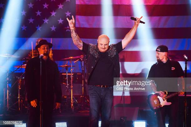 Dr Phil and Good Charlotte perform in a sketch with James Corden during The Late Late Show with James Corden airing Thursday September 13 2018