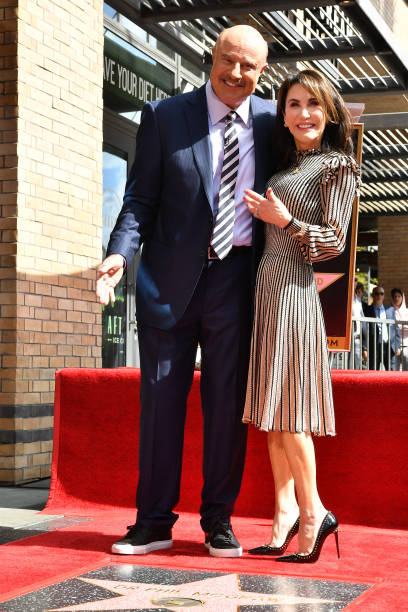 CA: Dr. Phil McGraw Honored With A Star On The Hollywood Walk Of Fame