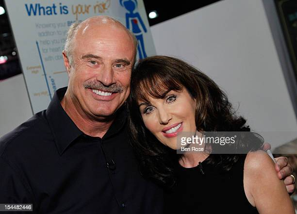Dr Phil McGraw and Robin McGraw attend O You presented by O The Oprah Magazine held at Los Angeles Convention Center on October 20 2012 in Los...