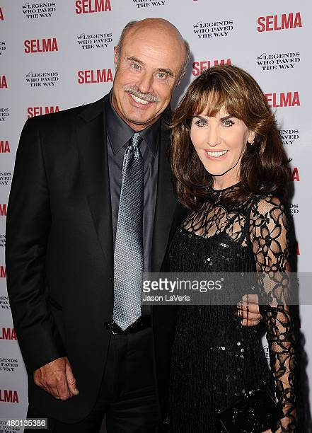Dr Phil McGraw and wife Robin McGraw attend the 'Selma' and the Legends Who Paved the Way gala at Bacara Resort on December 6 2014 in Goleta...