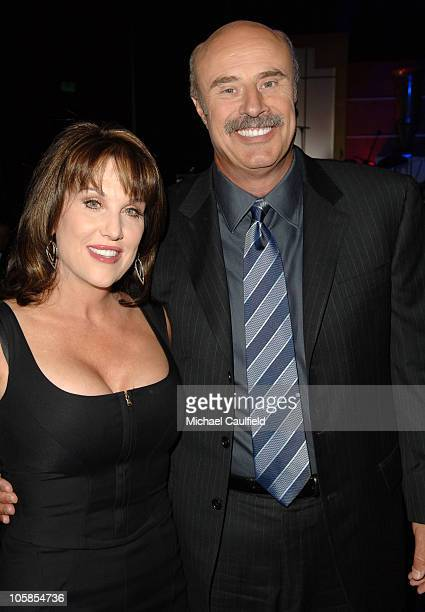 Dr Phil McGraw and wife Robin McGraw during 14th Annual Race to Erase MS Themed Dance to Erase MS Cocktails at Hyatt Regency Century Plaza in Century...