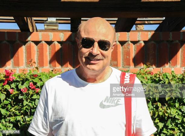 Dr Phil McGraw arrives at The 14th Annual Desert Smash Celebrity Tennis Event on March 6 2018 in La Quinta California