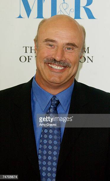 18 Dr Phil Speaks At The Museum Of Television And Radio Pictures