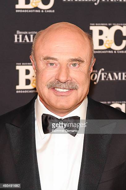 Dr Phil McGraw attends Broadcasting and Cable Hall Of Fame Awards 25th Anniversary Gala at The Waldorf Astoria on October 20 2015 in New York City