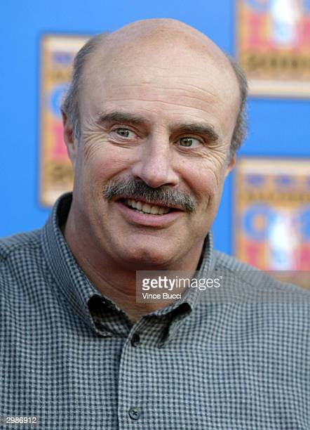 Dr Phil McGraw attends the 2004 NBA AllStar Game held on February 15 2004 at the Staples Center in Los Angeles California