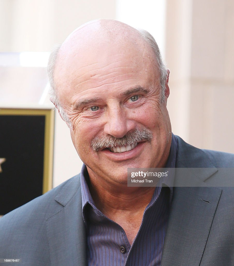 Dr. Phil McGraw attends the ceremony honoring Steve Harvey with a Star on The Hollywood Walk of Fame held on May 13, 2013 in Hollywood, California.