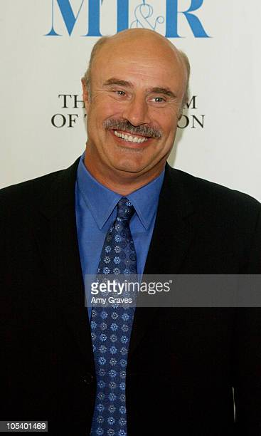 Dr Phil McGraw during Dr Phil Speaks at The Museum of Television and Radio at The Museum of Television and Radio in Beverly Hills California United...