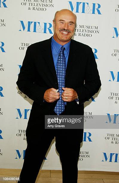 18 Dr Phil Speaks At The Museum Of Television And Radio