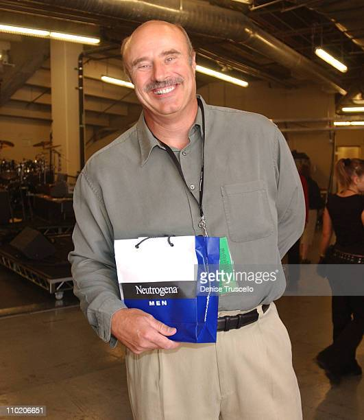 Dr Phil McGraw during Neutrogena Gift Bag Lounge At The2004 Country Music Awards at Mandalay Bay Casino Resort in Las Vegas Nevada
