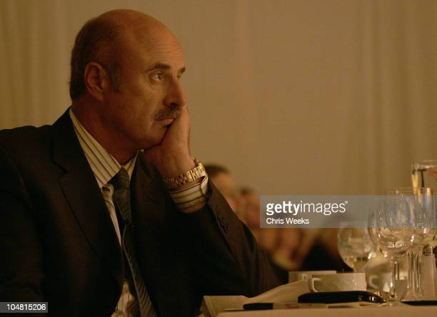 Dr Phil McGraw during The Children's Defense Fund's 15th Annual 'Beat the Odds' Awards Inside at Beverly Hills Hotel in Beverly Hills California...