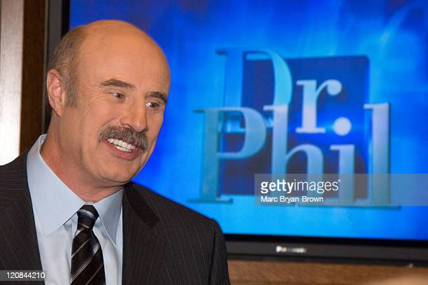 Dr Phil McGraw during The Museum of Television Radio Presents Behind the Scenes with 'Dr Phil' at Museum of Television Radio in New York City New...
