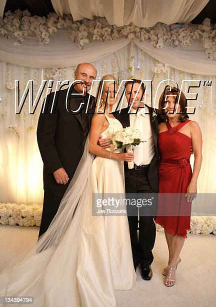 Dr Phil McGraw Erica Dahm Jay McGraw and Robin McGraw *EXCLUSIVE*
