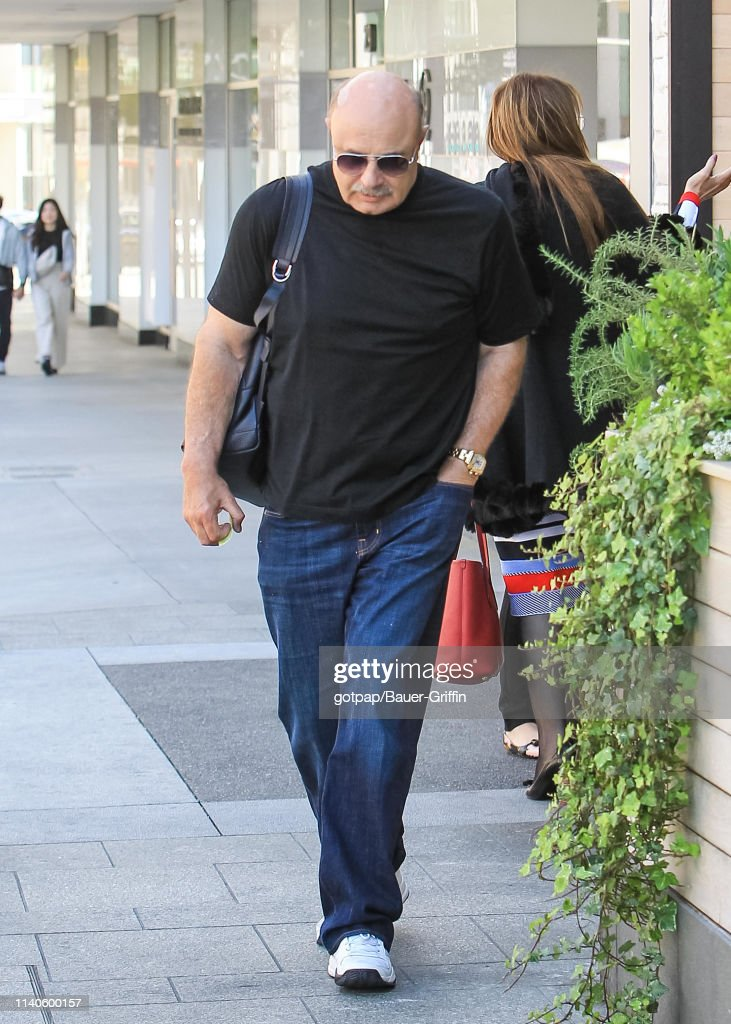 Dr  Phil McGraw is seen on April 30, 2019 in Los Angeles