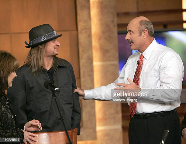 Dr Phil takes some time to chat with Kid Rock who stropped by to wish the daytime talk show host well on his 500th Show This very special episode of...