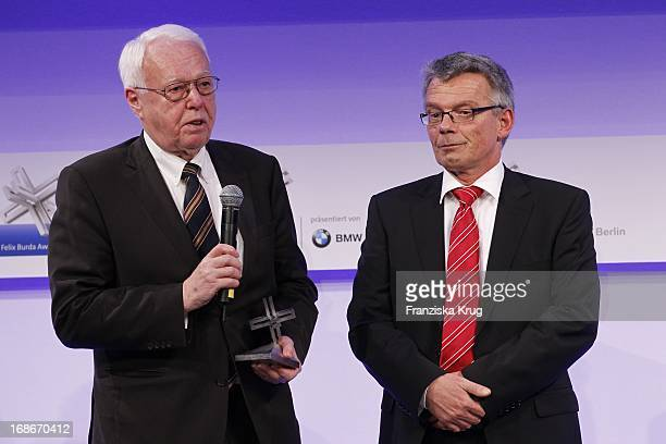 Dr Rainer Hess And Joseph Hedges at the 10th Anniversary Of The Felix Burda Award at Hotel Adlon in Berlin